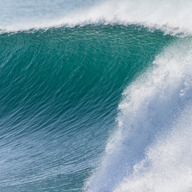 """""""Wave Wall Detail Crashing Power"""" stock image"""