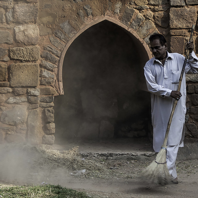 """sweeper"" stock image"