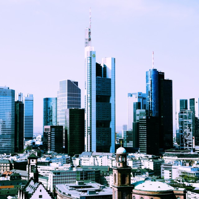 """Frankfurt 15"" stock image"