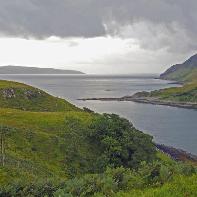 """""""Scottish bay"""" stock image"""