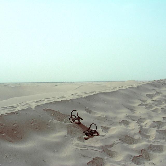 """""""Desert sandals"""" stock image"""