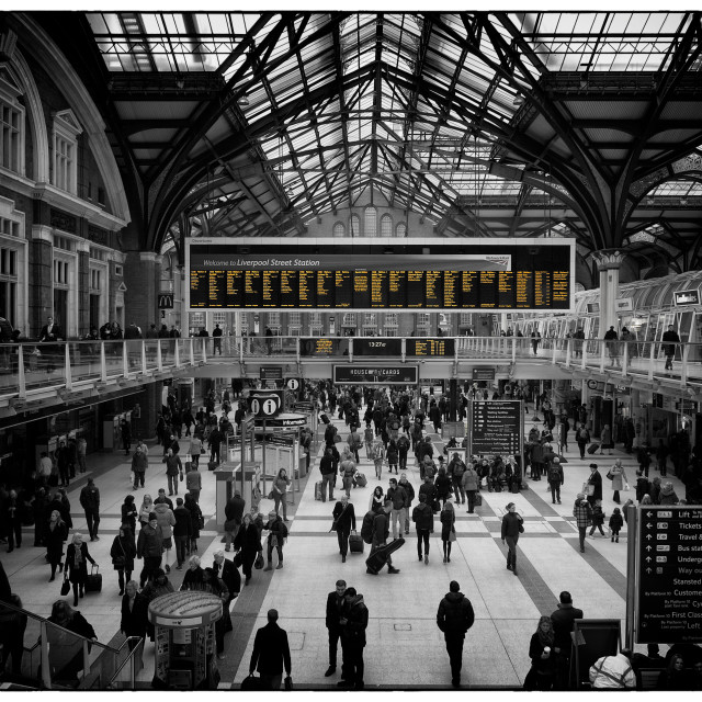 """Liverpool St"" stock image"