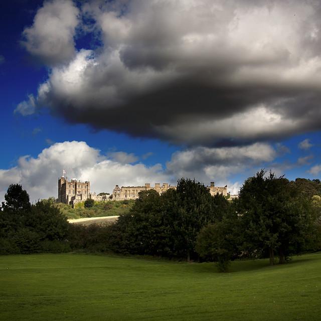 """Bolsover Castle"" stock image"