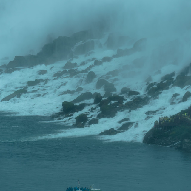 """Maid of the Mist - Niagara falls"" stock image"