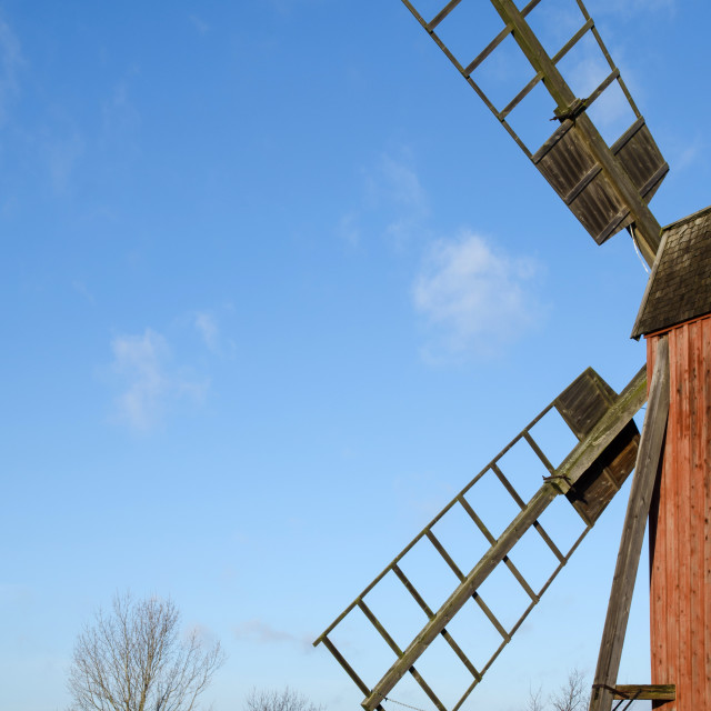 """""""Windmill detail"""" stock image"""