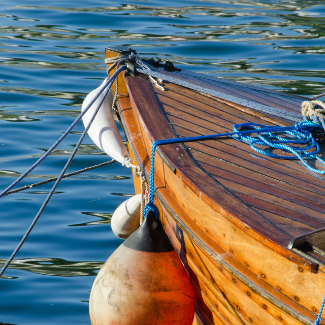 """""""Boat on the water"""" stock image"""