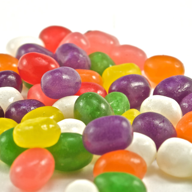 """""""A scrumptious mound of colorful candies"""" stock image"""