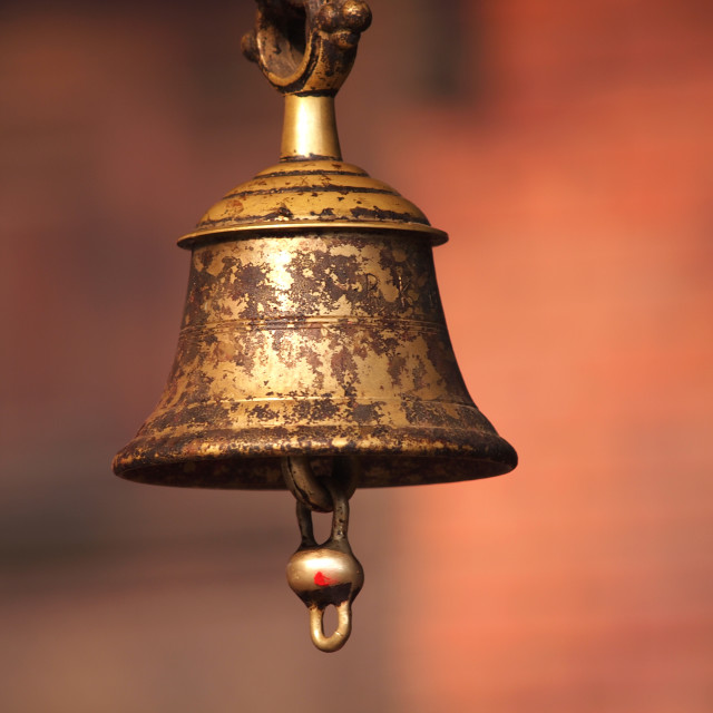"""bronze bell"" stock image"