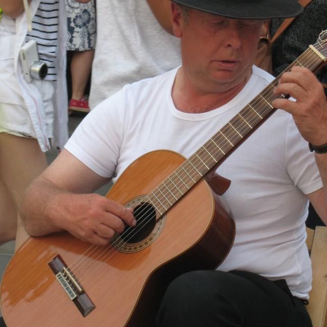 """""""Spanish Guitar"""" stock image"""