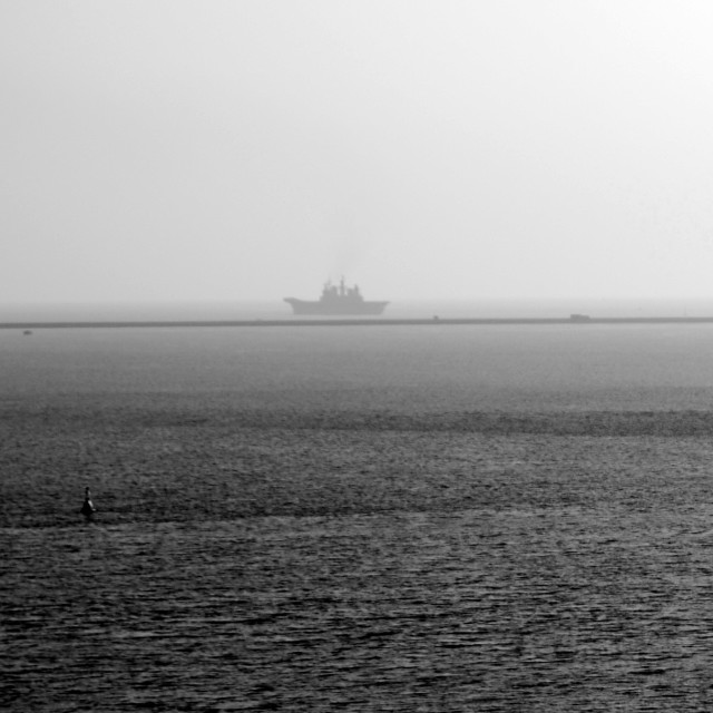 """My Ship Is Coming In"" stock image"
