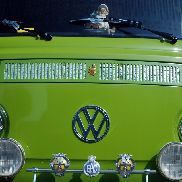"""VW Campervan"" stock image"