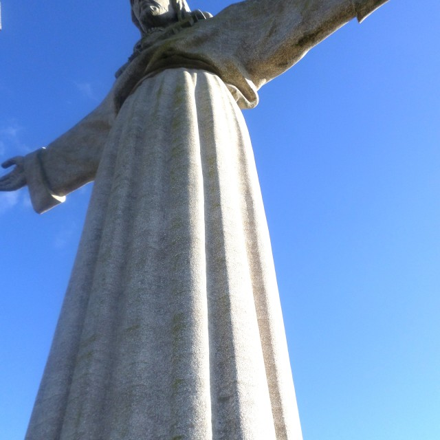 """Cristo Rei statue, Lisbon"" stock image"