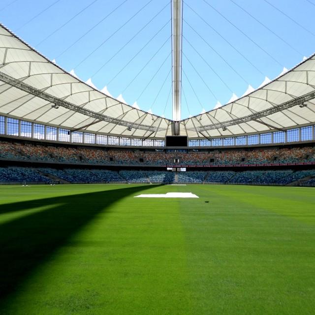 """Moses Mabhida Stadium, Durban"" stock image"