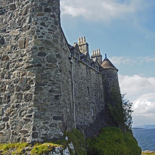 """""""Duart castle"""" stock image"""