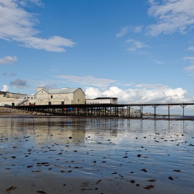 """""""Bognor Regis pier"""" stock image"""