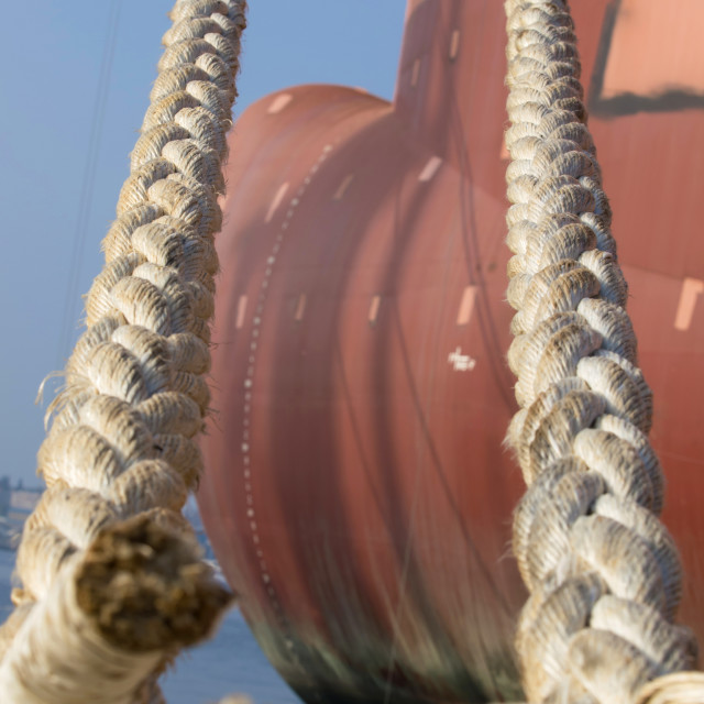 """ropes"" stock image"