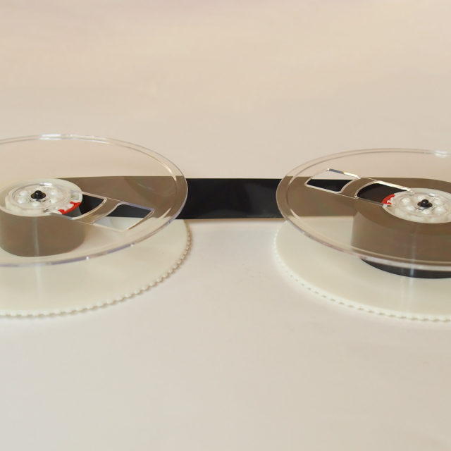"""Magnetic tape reel"" stock image"