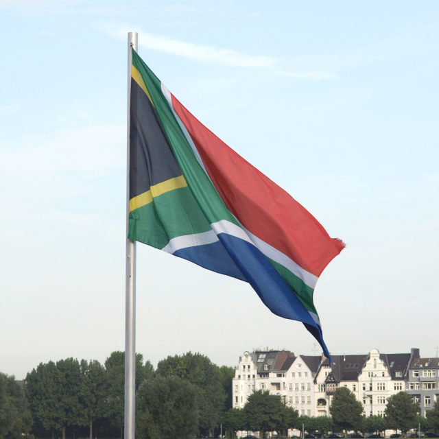 """""""Flag of South Africa"""" stock image"""