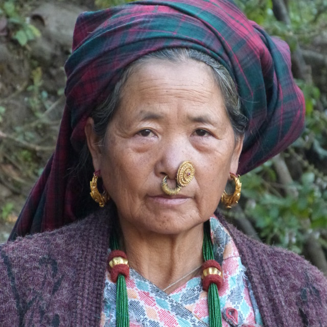 """Village Elder"" stock image"