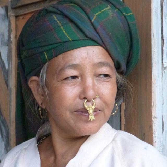 """Linkhim Village, Nepal"" stock image"