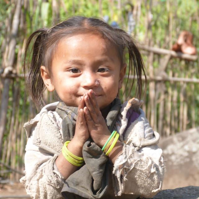 """""""Namaste"""" stock image"""