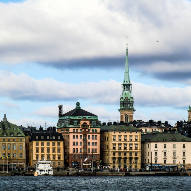 """Capital of Sweden"" stock image"
