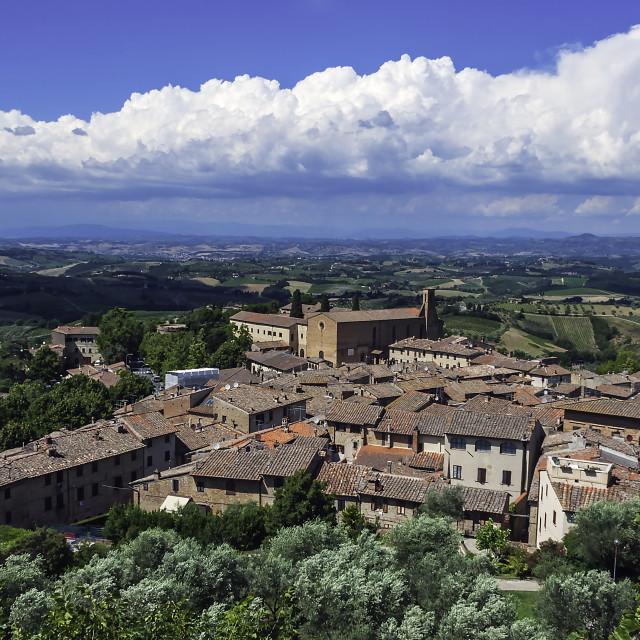 """San Gimignano"" stock image"