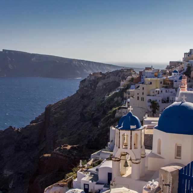 """Santorini, Greece"" stock image"