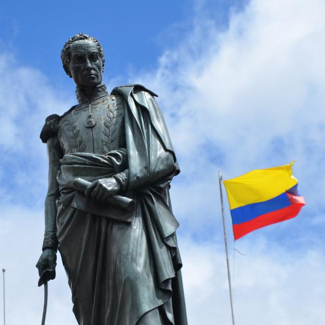 """Bolívar Colombia"" stock image"