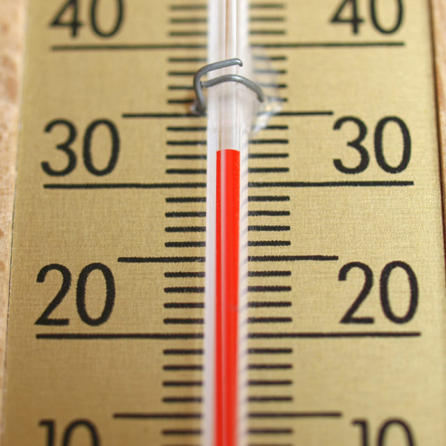 """Thermometer picture"" stock image"