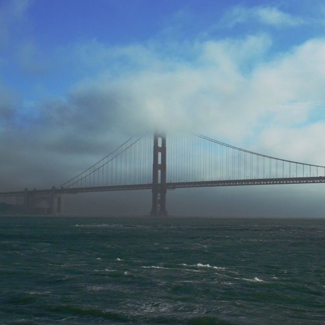 """""""Golden Gate and Colors"""" stock image"""