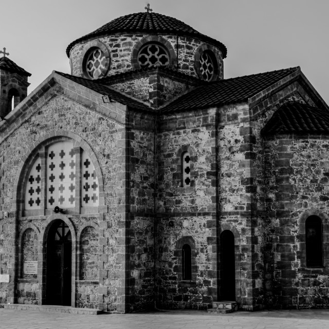 """Cyprus Church"" stock image"
