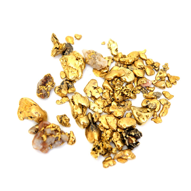 """Gold Nugget"" stock image"