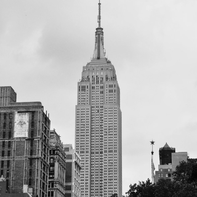 """Empire State"" stock image"