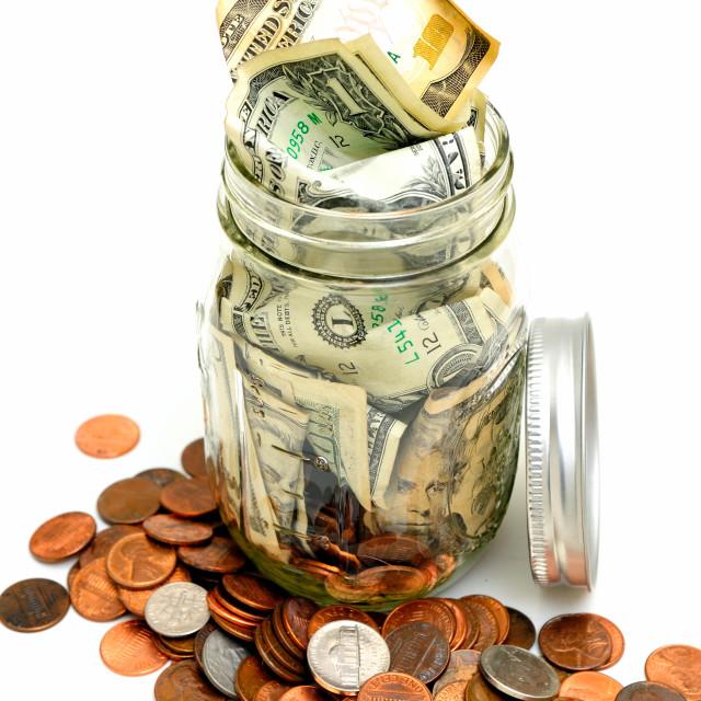 """Small Savings Account"" stock image"