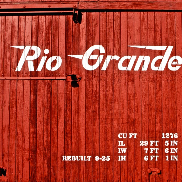 """Red Boxcar"" stock image"