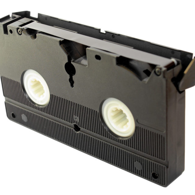 """Video tape"" stock image"