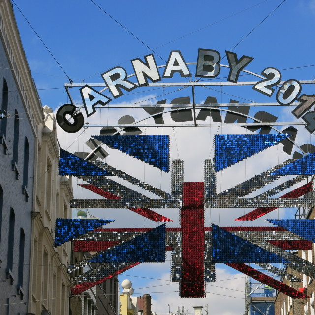 """""""Carnaby 2014"""" stock image"""