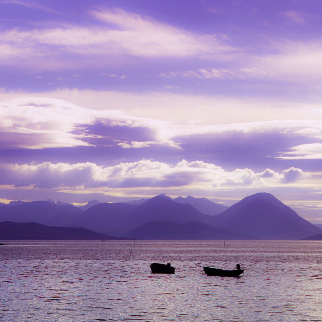 """Skye skyline"" stock image"