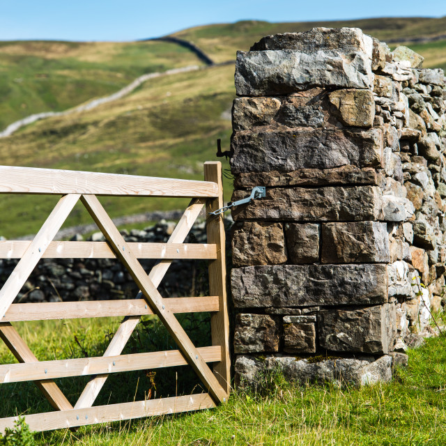 """Gateway to the Dales"" stock image"