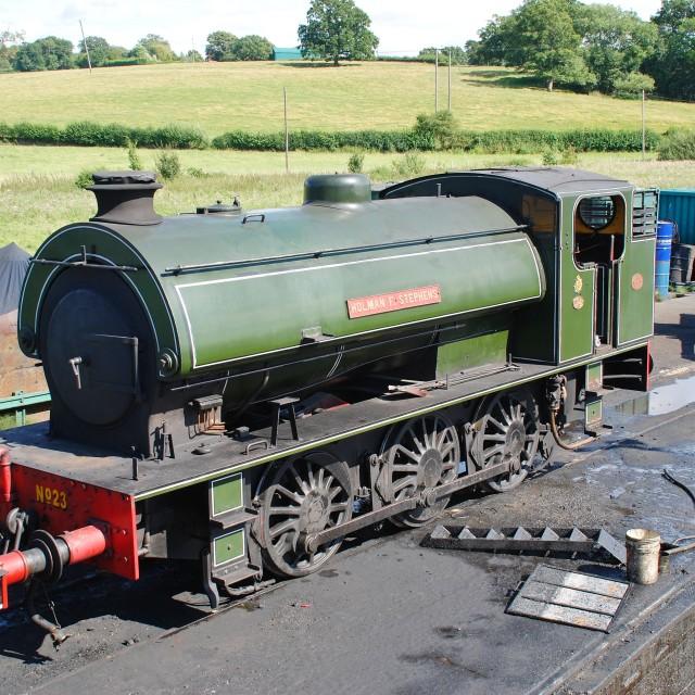"""Holman F. Stephens locomotive"" stock image"