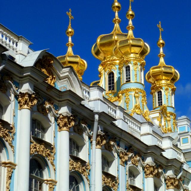 """""""Catherine Palace, Tsarskoe Selo, St Petersburg"""" stock image"""