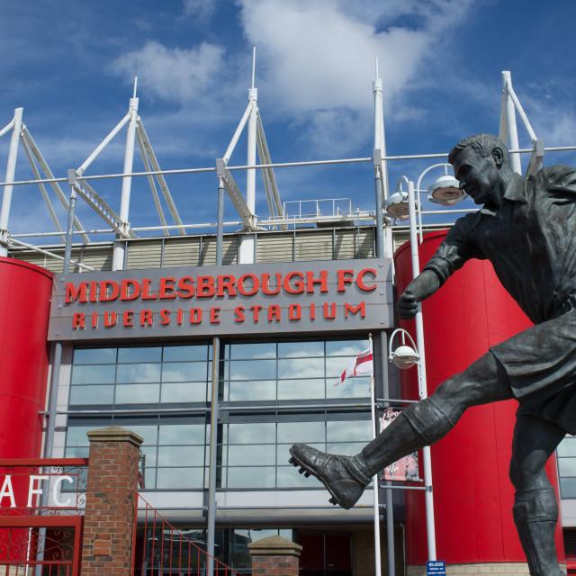 """""""Middlesbrough Riverside Stadium (10)"""" stock image"""