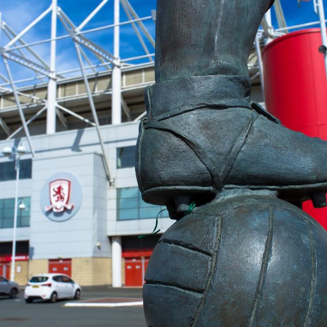 """""""Middlesbrough Riverside Stadium (7)"""" stock image"""