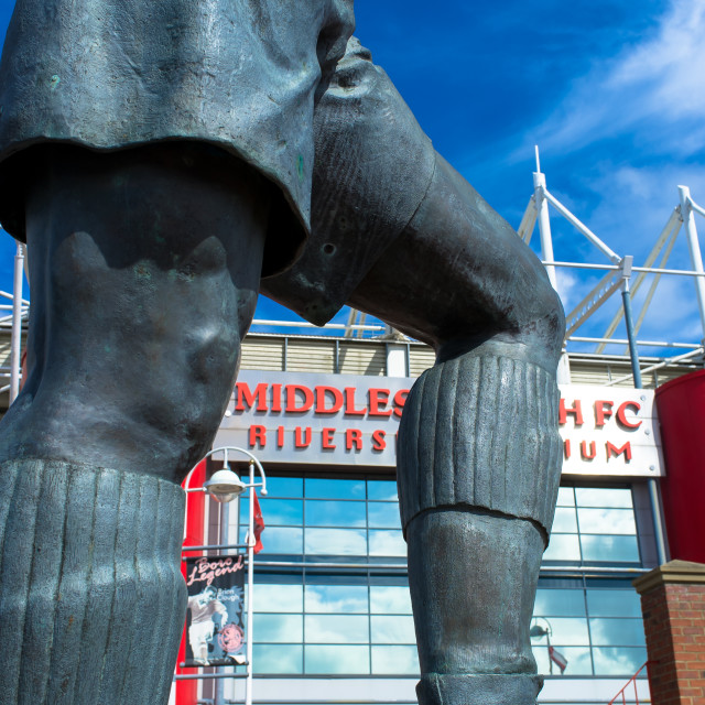 """""""Middlesbrough Riverside Stadium (6)"""" stock image"""
