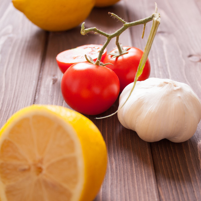 """""""Fruit and vegetables"""" stock image"""