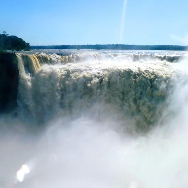 """Devil's Throat at Iguazu Falls"" stock image"