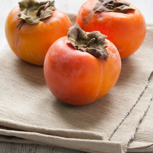 """Persimmon fruit"" stock image"
