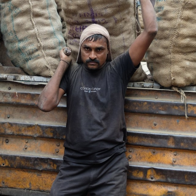 """Indian worker - Porter"" stock image"