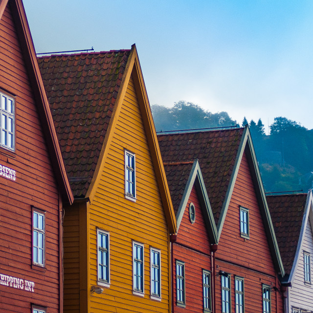 """Crooked Houses"" stock image"